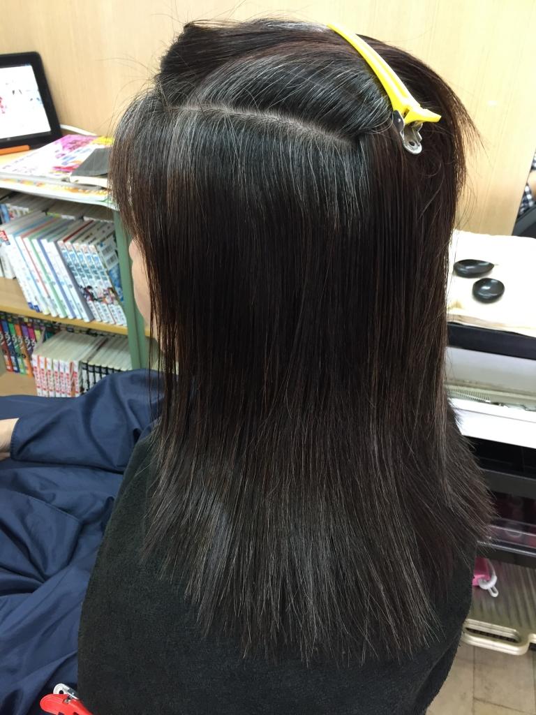 50代ヘアスタイル 大和西大寺 髪質改善