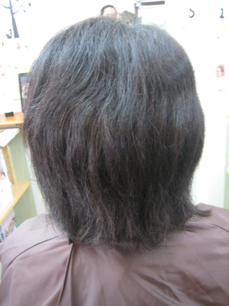 60代ヘアスタイル 髪質改善 アンチエイジング系ヘアサロン