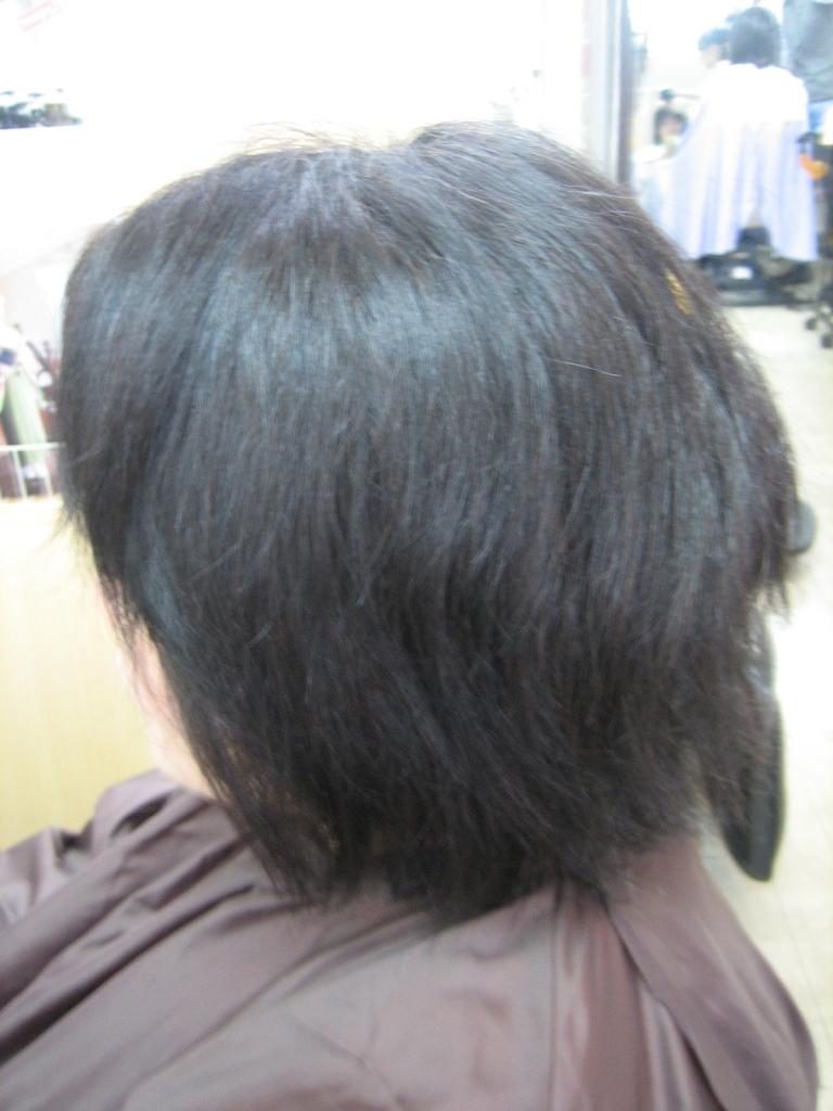 パサパサヘア 髪質改善