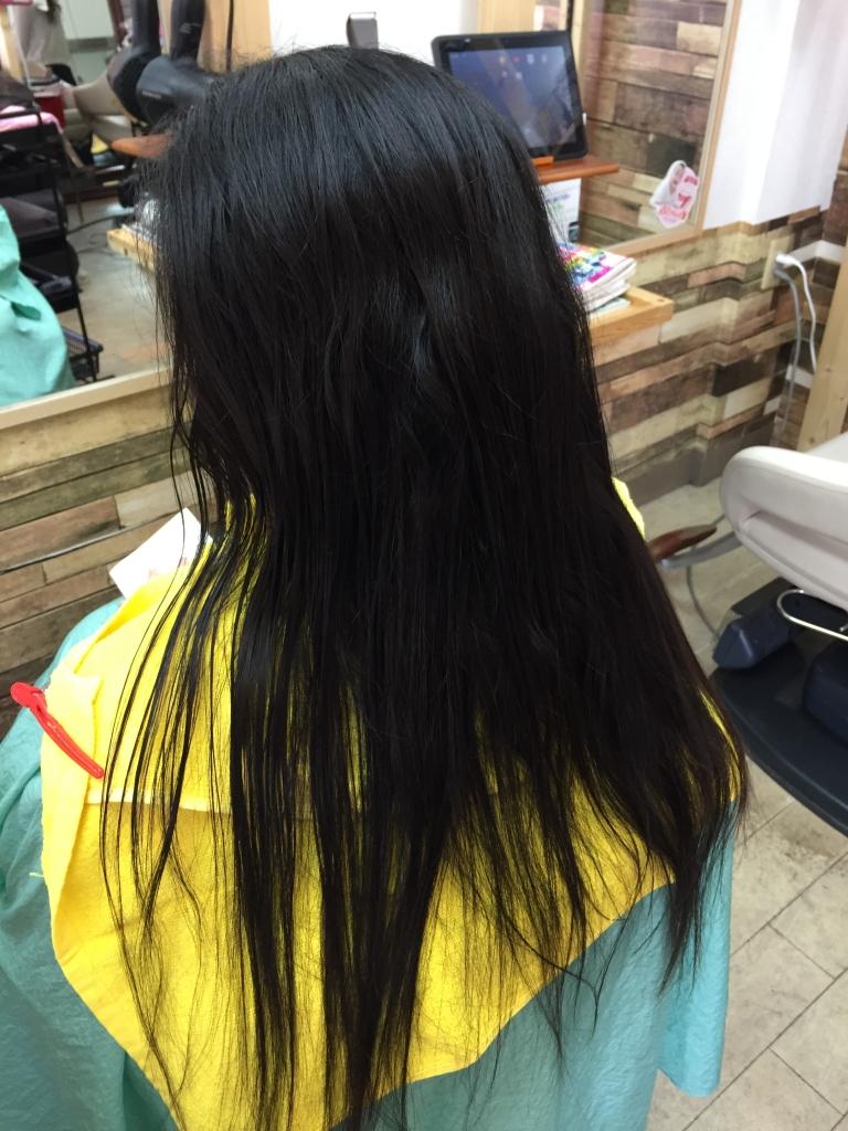 初めてのストレート 奈良市 美容室 初めての縮毛矯正 学園前 西大寺 高の原 究極ストレートパーマ