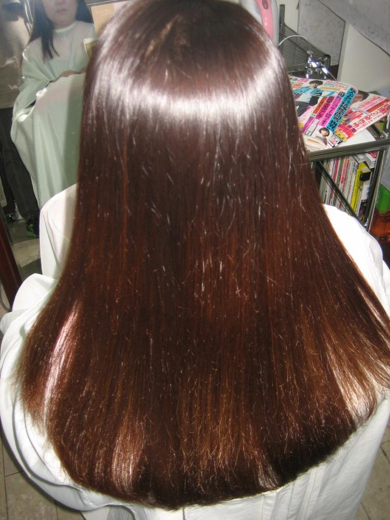京田辺市 髪質感調整縮毛矯正 美容室 奈良 学園前 高の原