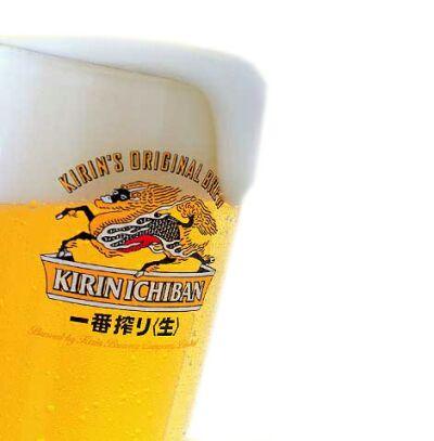 ビールはキリン!
