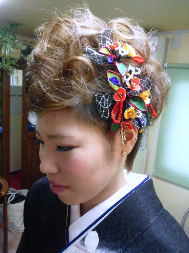 髪型 ミディアム 三つ編み