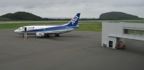 2007年9月 大島空港