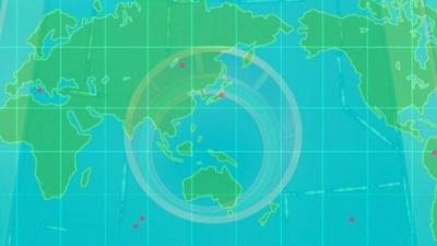 伝説の.7枚のナンバーズ地図