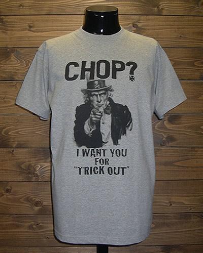 クレイジーロッド/Tシャツ/チョップ?