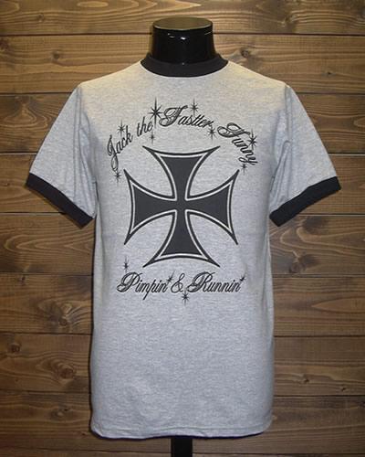 クレイジーロッド/Tシャツ/アイアンクロス