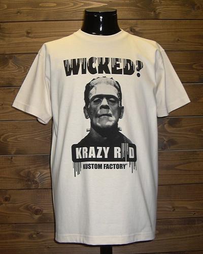クレイジーロッド/Tシャツ/ウィックド?