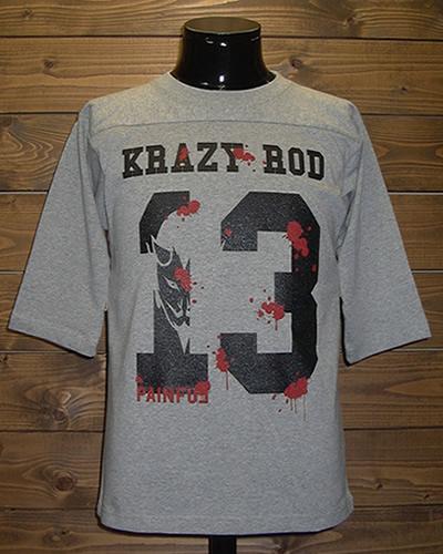 クレイジーロッド 13 ホッケー Tシャツ 西海岸 アメカジ