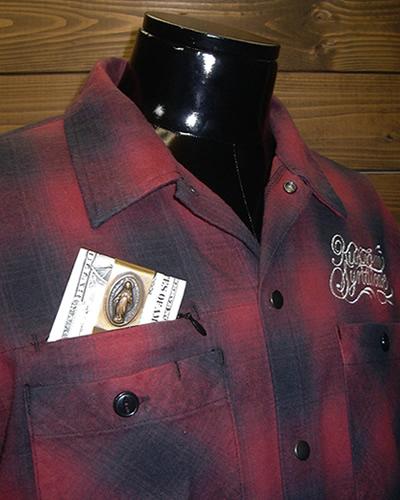 西海岸 ファッション ワークスタイル ネルシャツ