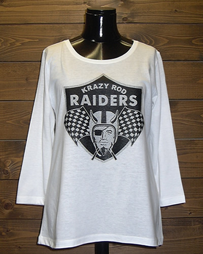 レイダース RAIDERS ロゴ ガールズ Tシャツ Aライン