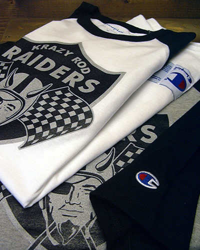 レイダース RAIDERS ロゴ グラフィック オークランド ラグラン Tシャツ