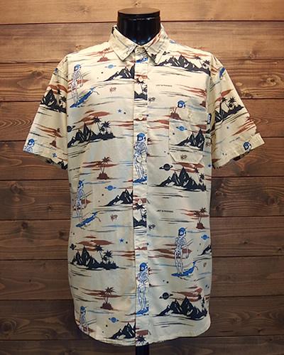 西海岸 リゾート スタイル シャツ