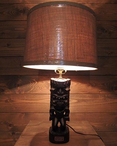 ティキ 照明 ハワイアン インテリア Tiki Lamp