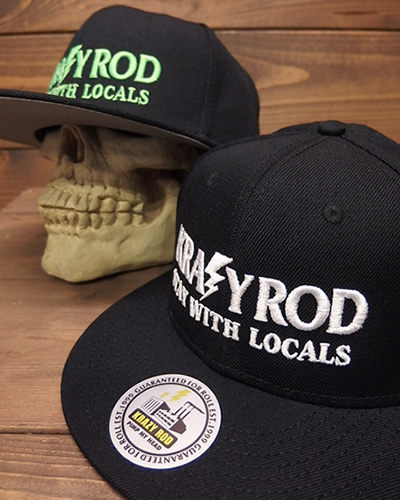 "KRAZY ROD ""STAY WITH LOCALS"" CAP Newカラー"