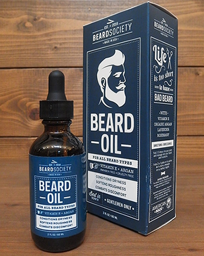 BEARD SOCIETY/BEARD OIL(髭用オイル)