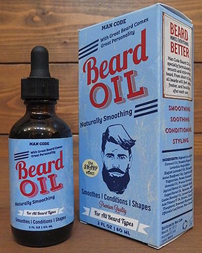 MAN CODE BEARD OIL 髭オイル グルーミング