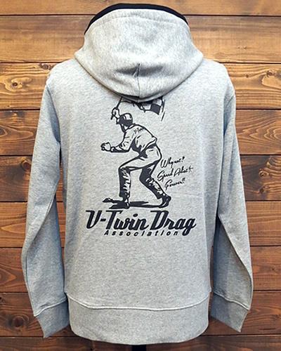 VDA フラッグマン ジップパーカ