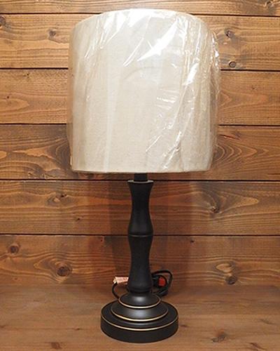 USA クラシックスタイル テーブルランプ 黒M