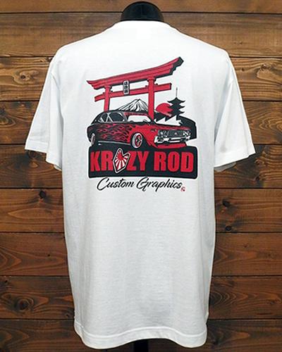 オールドスクール JDM ロゴ Tシャツ ホワイト