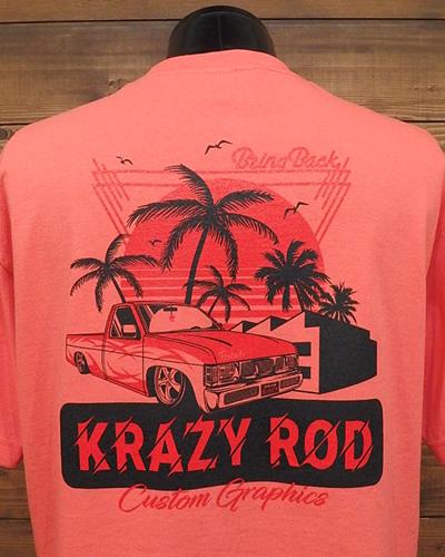 ピックアップ トラック 80s~90sカスタム スタイル Tシャツ