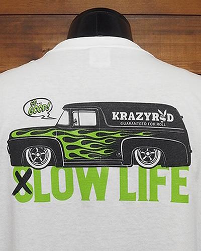 """ポケットTシャツ """"LOW LIFE"""""""