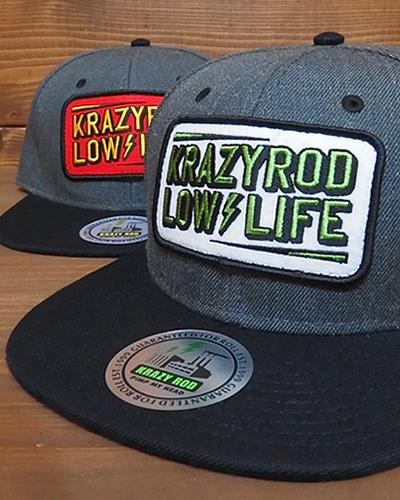 KRAZY ROD LOW LIFE CAP -HCB-