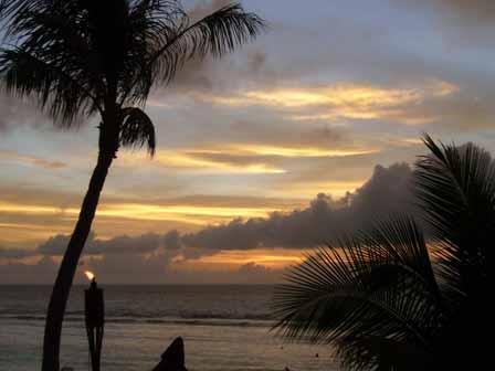 2007.05.14 グアム:ココパームガーデンビーチ サンセット2