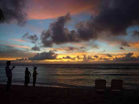 2007.05.14 グアム:ココパームガーデンビーチ サンセット3