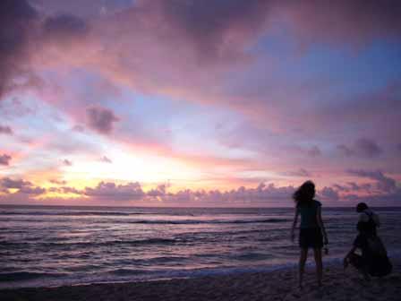 2007.05.14 グアム:ココパームガーデンビーチ サンセット6