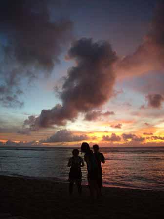 2007.05.14 グアム:ココパームガーデンビーチ サンセット7