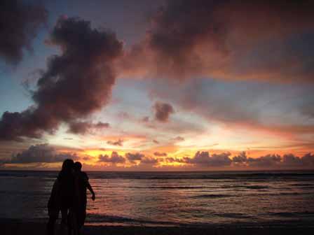 2007.05.14 グアム:ココパームガーデンビーチ サンセット8