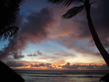 2007.05.14 グアム:ココパームガーデンビーチ サンセット9