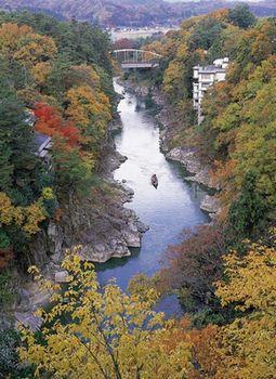 秋の天龍峡