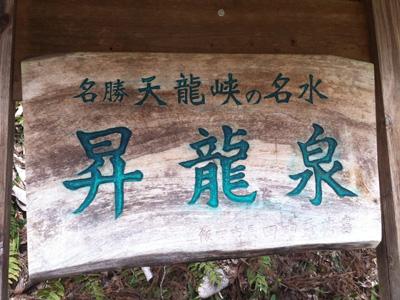 昇龍泉看板