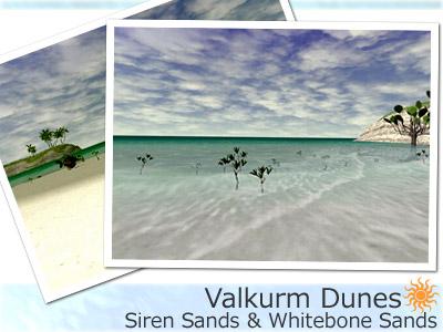 バルクルム砂丘の海