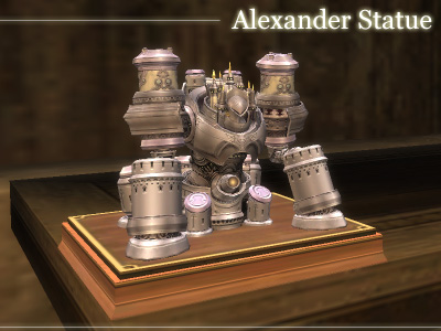Alexander Statue