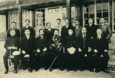 第二革命後(大正2年11月)北京・根津先生と在北京同窓生