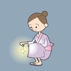 浴衣(ゆかた)のイラスト