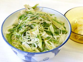 「キーマカレー風♪白石タコうーめん」茂木恭子さん作 カレー味が温麺と良く合う!もっとスパイスが効いてればなお良し。