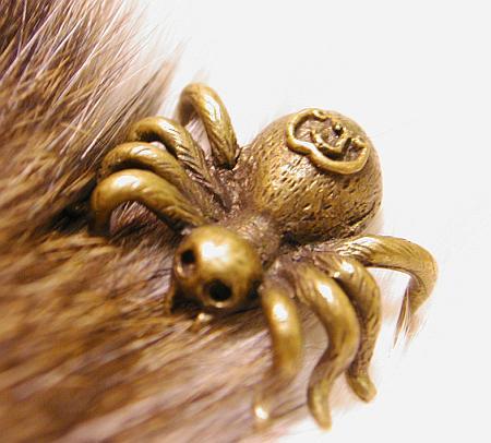 髑髏顔ですが蜘蛛です