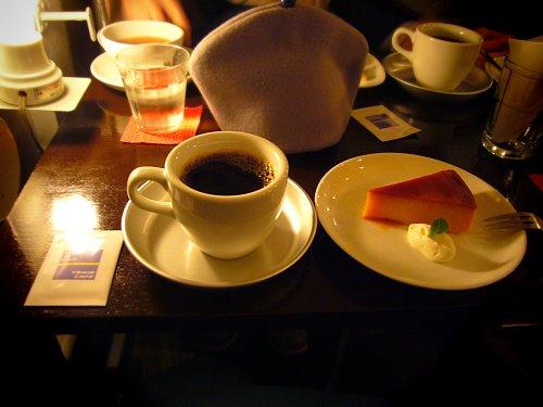 ケニア珈琲と南瓜のキャラメリゼ