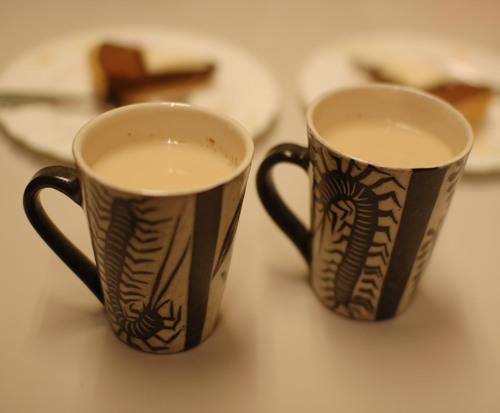 百足のマグカップ