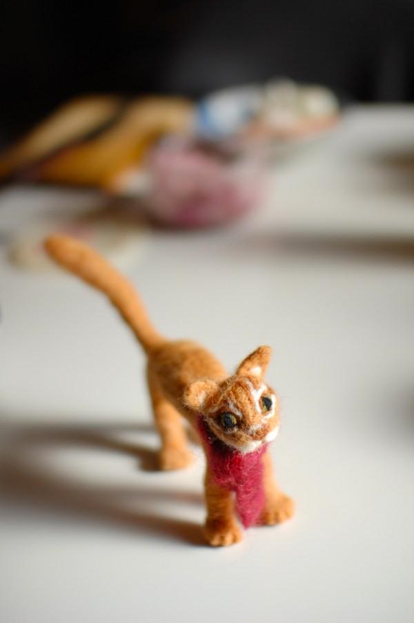 羊毛なのに猫なんです