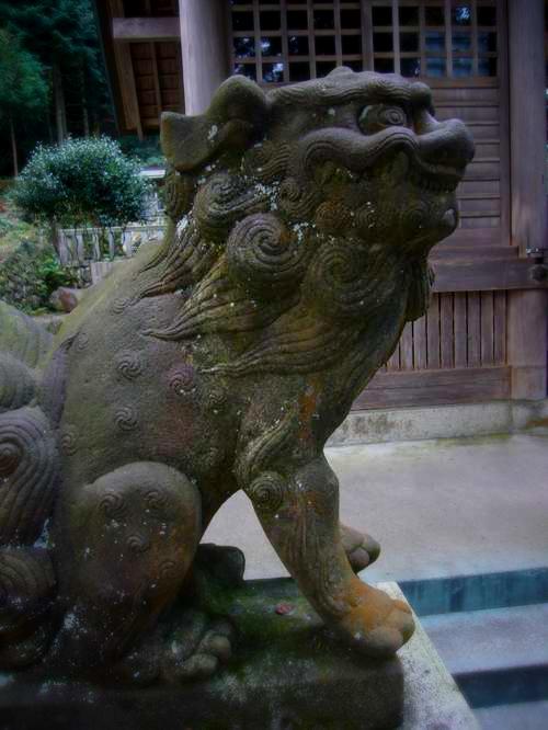 養老神社の狛犬