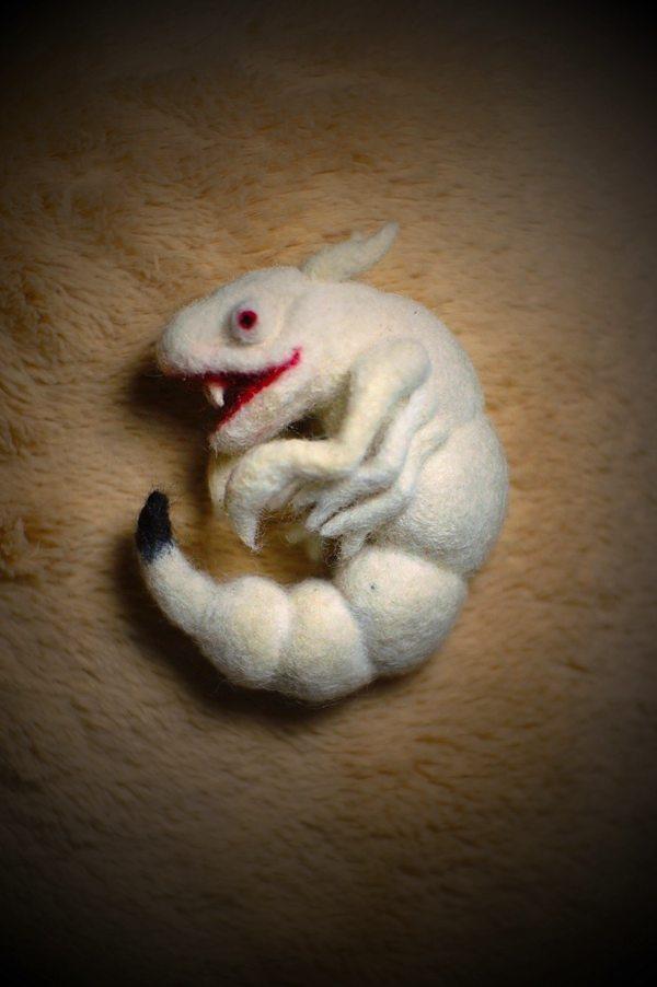 活きのいい夢惑蟲の妖蟲、