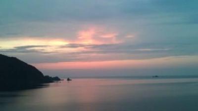 ☆夕陽と海☆