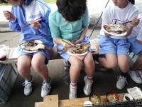 ♪美味しい〜〜〜と鯛の試食♪