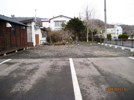 2009-04駐車場