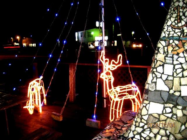 2010はしもと珈琲館クリスマスイルミネーション